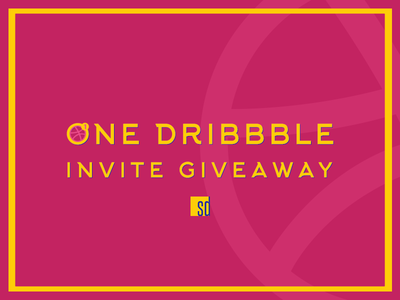 1/ Dribbble invitation Giveaway🤩