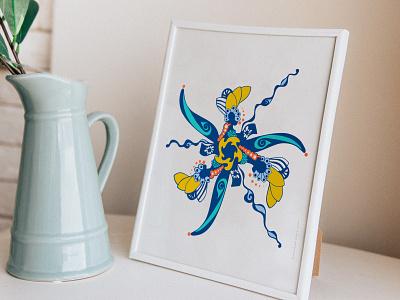 Tuila Print abstract vector