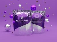 Roast & Post coffee bags