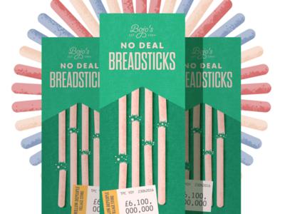 Bojo's No Deal Breadsticks