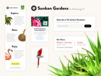 Sunken Gardens Style Tile - Daily UI Challenge