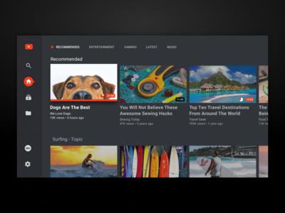Apple TV YouTube App UI Improvements