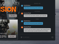 Redesign Steam - Chat