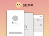 Pancake wireframe