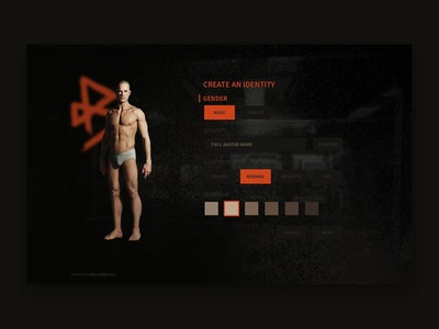 Character creation concept