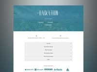 Hackathon Website