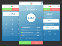Budget App Concept