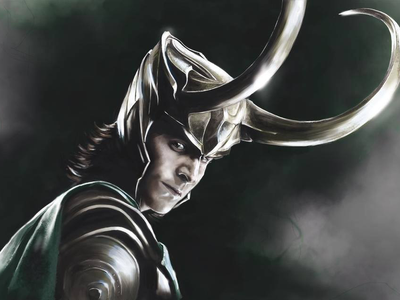 Loki villain superhero loki marvel characters illustration digital painting digital illustration digital art