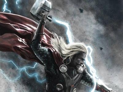 Thor marvel comics marvel thor characterdesign superhero characters illustration digital painting digital illustration digital art