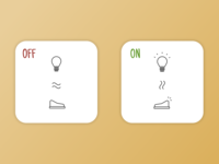 DailyUI #014: On/Off Switch