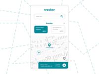 DailyUI #020: Location tracker
