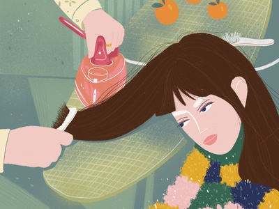 when you want straight hair digitalart design digital illustrator illustration artist character art