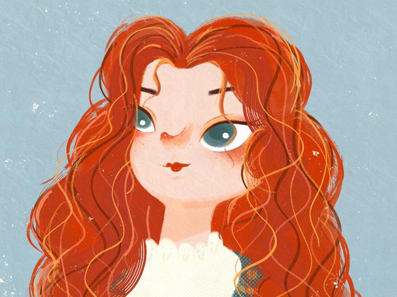 Merida illustration