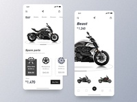 Purchase and Sale of Motorcycle Mobile Edition