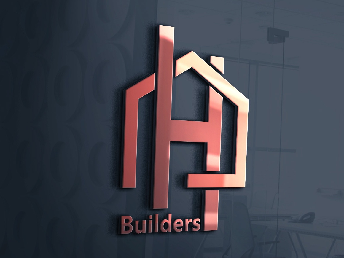 Home Builders designer freelancers behance clean dribble logo design vector minimal typography event business corporate company logo 3d illustration branding 2d flat design