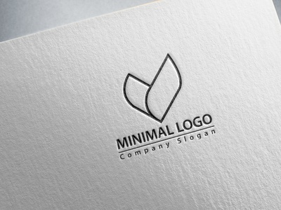 Professional Minimal Logo Design typography logo design marketing sell dribble minimal corporate 2d company branding business flat logo design