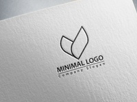 Professional Minimal Logo Design