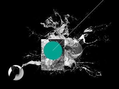 Random Render Illustration photoshop design explore render 3d illustration art