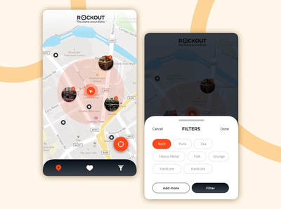 Rockout - The scene around you - Mobile App