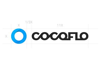 Logo for Cocoflo branding logo