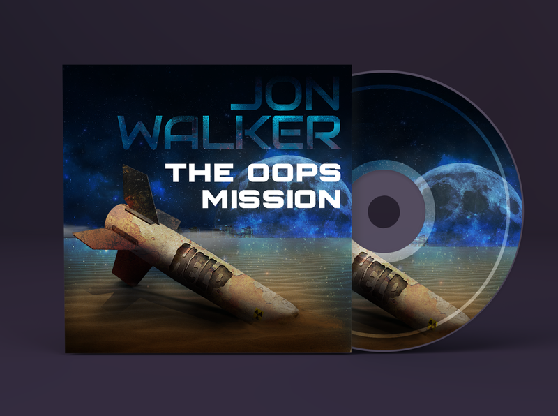 Jon Walker - The OOPS Mission cover concept album cover design digital painting digital illustration digitalart photomanipulation illustration album cover album art coverart