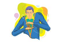 """BORHAN""MathMagazine illustration"