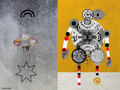 FOArtista, Drawing: Playing in the Street
