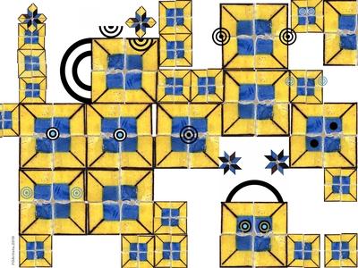 FOArtista, Illustration: Yellow Family.
