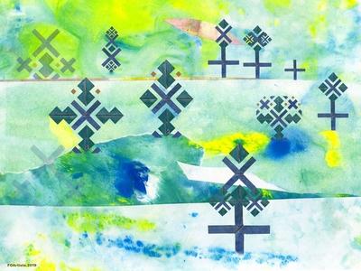 FOArtista, Illustration, Winds of Peace