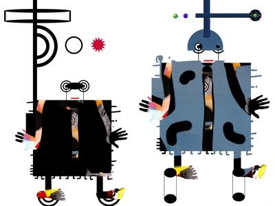 FOArtista, Illustration, Men Machine