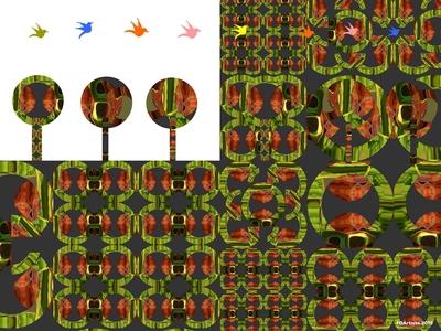 FOArtista, Illustration, Garden, mixed media on digital support