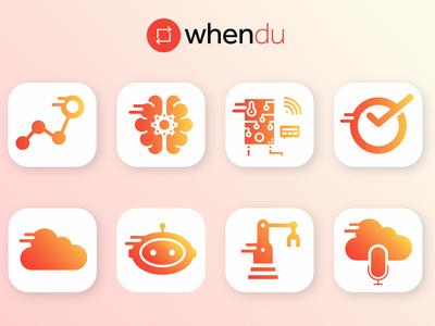 Whendu Software Company Icons