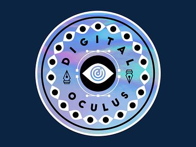 Digital Oculus sticker