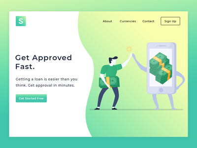 Financial Landing Page