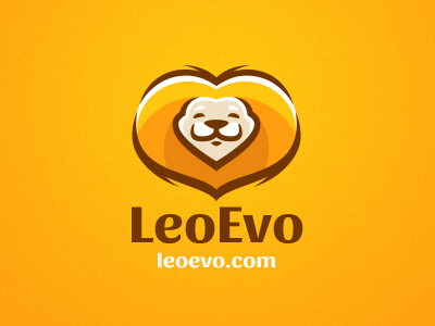 Leo cat pet animal smile lion store toy cartoon kids fun mascot logo