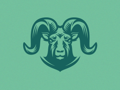 Goat Mascot sheep ram engraving sport team zoo horn goat wild animal mascot logo