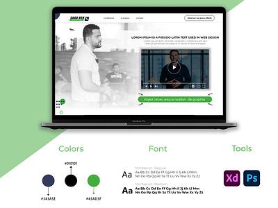 Landing page template template template design website ui design uxui website sales page ui design landing page ui