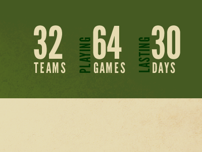 Teams Games Days