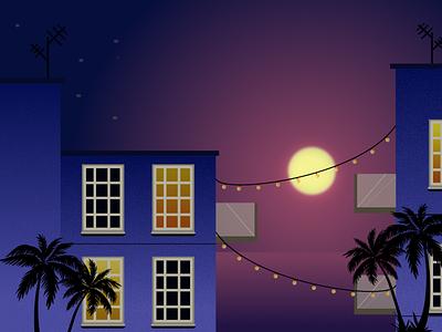 Casa con ventanas sunshine vector design art illustrator affinity designer illustration