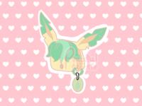 Leafeon Purse (PokePurse Series)