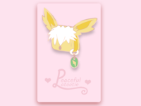 Jolteon Enamel Pin (Mock Up Design)