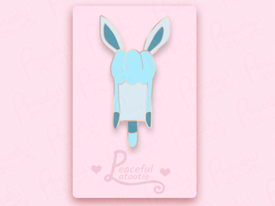 Glaceon Ice Cream (Pin Mock Up)