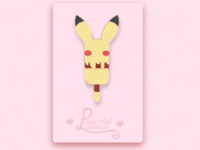 Pikachu Ice Cream (Pin Mock Up)