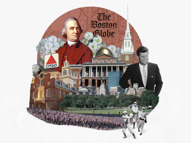 Boston design boston photo illustration photo collage collage 30 day challenge