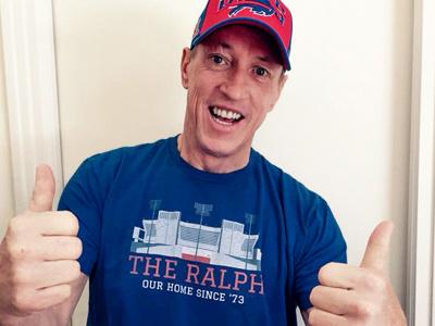The Ralph - 26 shirts design illustration stadiums football jim kelly bills t-shirt