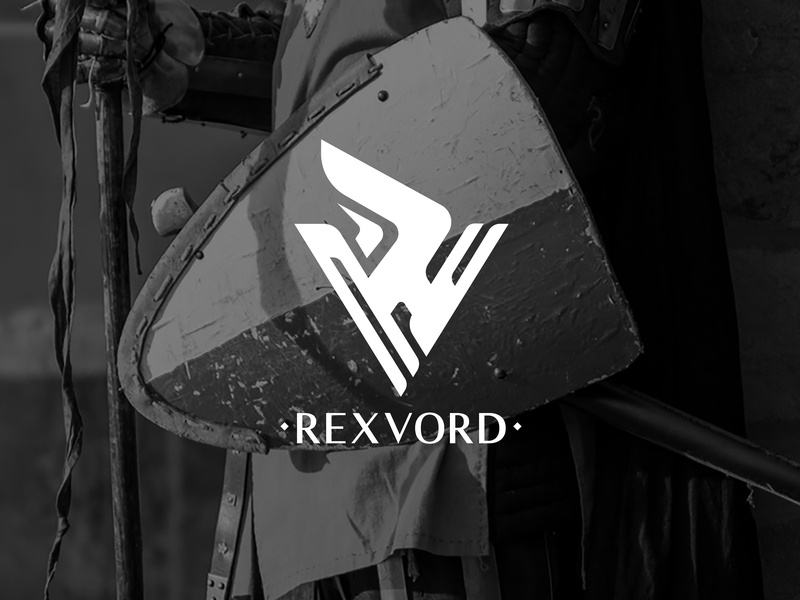 Rexvord flat vector illustration branding logo