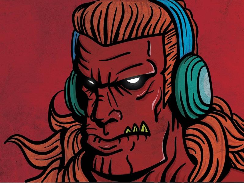 Devil Kil The Pop design vector illustration