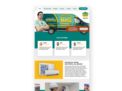 Big Family Electric Website design type minimal ui ux typography web app illustration branding