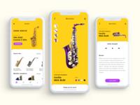 Saxo UI design