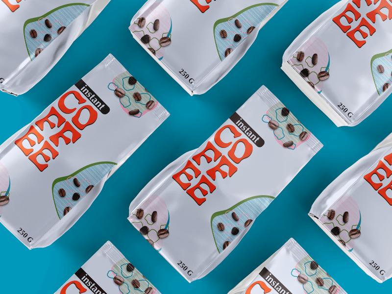 Package Design - Instant Coffee concept logo adobe photoshop branding mockup adobe illustrator illustrator photoshop design graphicdesign adobe